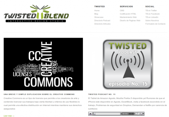 Twisted Blend Studio | Interactive Design Studio